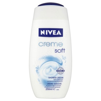 Nivea Creme soft sprchový gel 250 ml